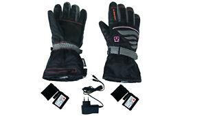 OHNE Akkus XL schwarz Lenz Heat Gloves 4.0 Men beheizbare Handschuhe