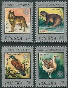 Poland stamps MNH (Mi. 2504-07) Environmental protection - Bystra Slaska, Polska - Poland stamps MNH (Mi. 2504-07) Environmental protection - Bystra Slaska, Polska