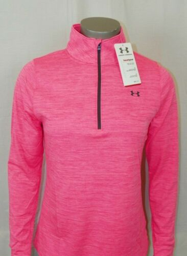 Women's Under Armour Heatgear 1//2 Zip Semi-Fitted New With Tags