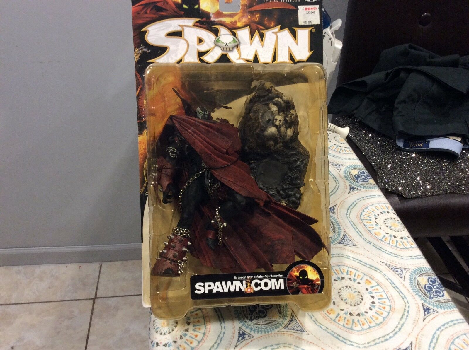 VINTAGE SPAWN CLASSIS SERIES17 YEAR 2000 SPAWN V FIGURE NEW
