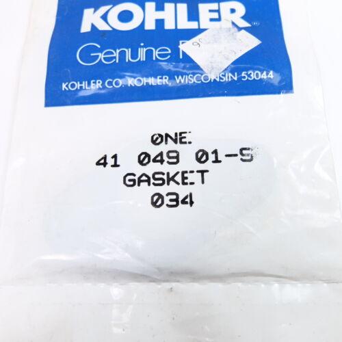 New OEM Kohler 41 049 01-S Gasket
