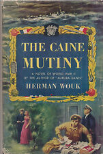 "HERMAN WOUK ""The Caine Mutiny"" (1951) SIGNED First Edition PULITZER PRIZE WINNER"