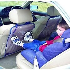 NEW SET OF 2 KIDS CHILDREN CAR BACK CLEAR SEAT PROTECTOR - KEEPS THE SEAT CLEAN