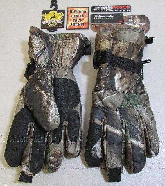 Jacob Ash RealTree AP Men's Brushed Tricot Shooter's Gloves 63-795-WM