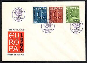 PORTOGALLO-1966-FDC-Europa-CEPT