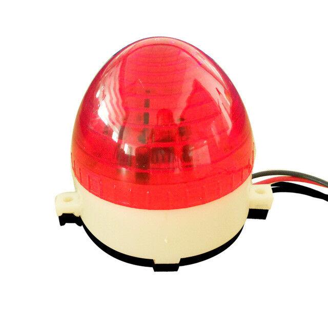 NSEE LTE5 220V DC Strobe Lamp Flashing LED Light Gate Door Opener IP54 Garage