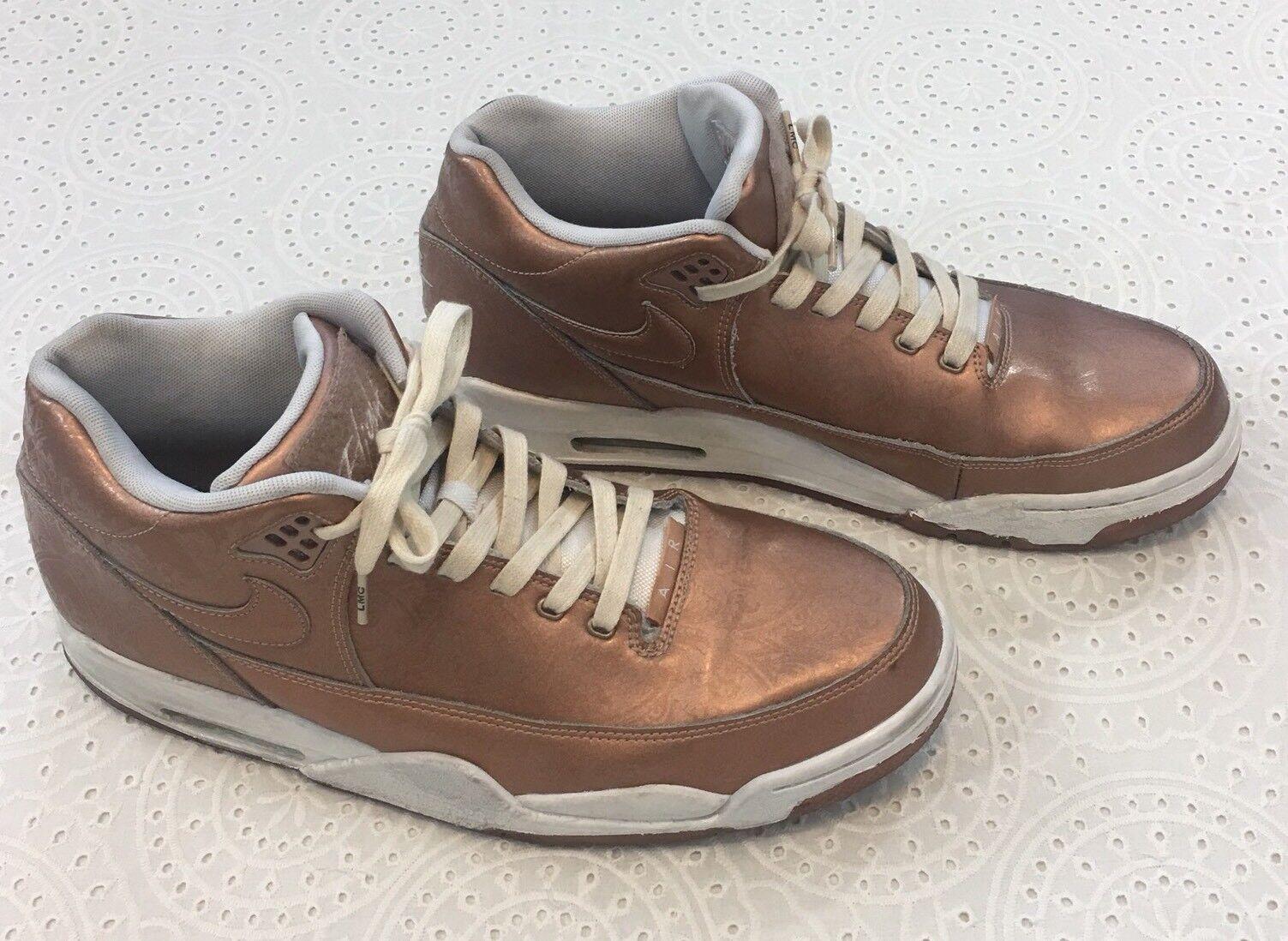Nike Flight Squad, Flight 89 Design, Metallic Red Bronze Athletic shoes Size 12
