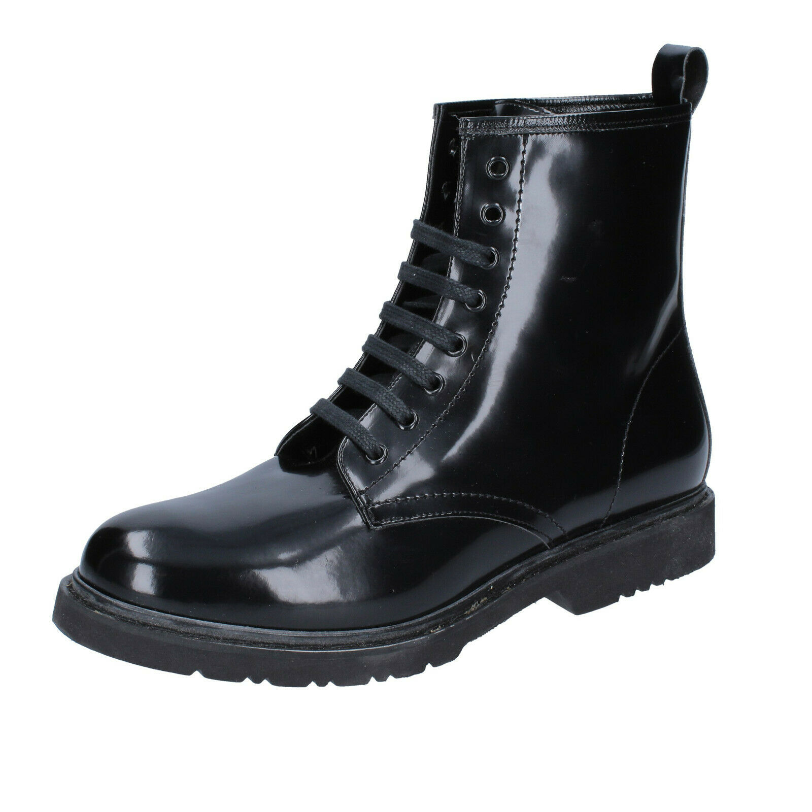 Women's shoes OLGA RUBINI 7 (EU 40) ankle boots black leather BS862-40