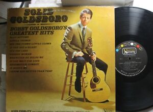 Rock-Lp-Bobby-Goldsboro-Solid-Goldsboro-Greatest-Hits-On-Ua