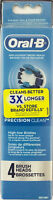 Oral-b Precision Clean Replacement Brush Head (4 Ct.)