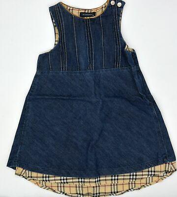 Original Baby Designer Jeans Kleid von Burberry Größe 18M ...
