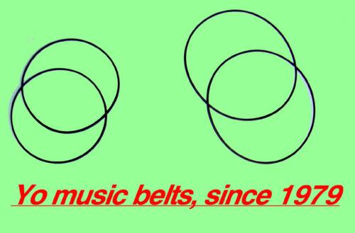 4 Belts for 4 ремъци пассика для магнитофона reel to reel KASHTAN КАШТАН КАЩАН
