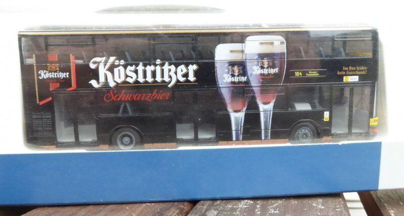 Rietze 67511 H0 MAN DN 95 Autobus à impériale DD LPP Berlin 104 après Stralau