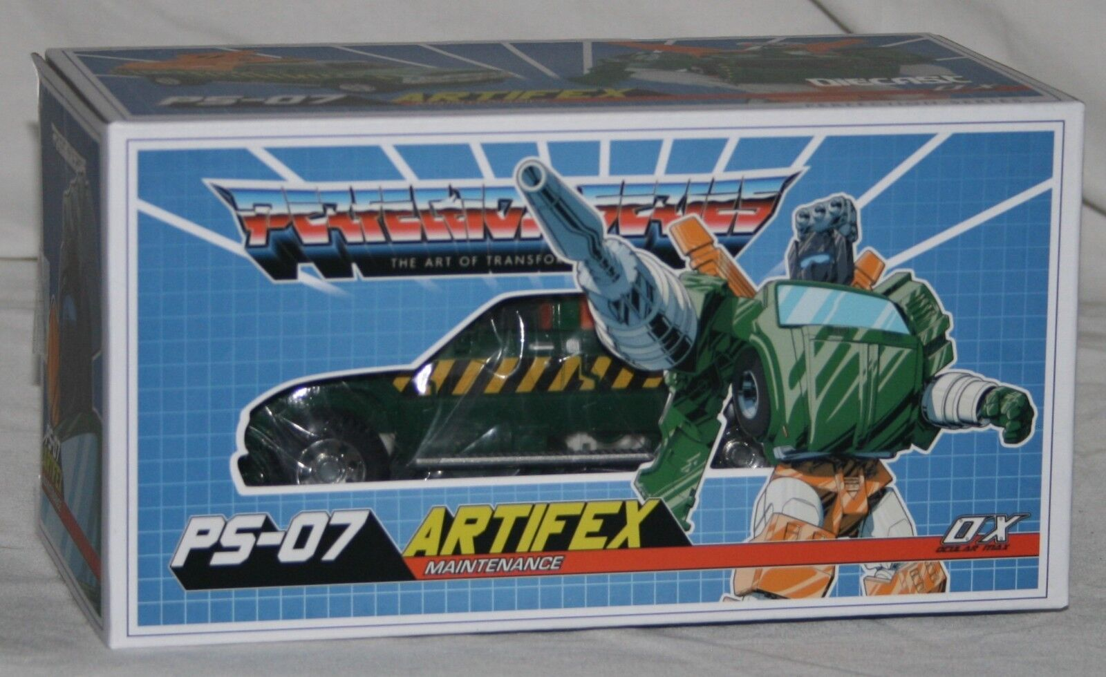 Transformers Mastermind Creations ps07 Artifex NUOVO IN SCATOLA SIGILLATA