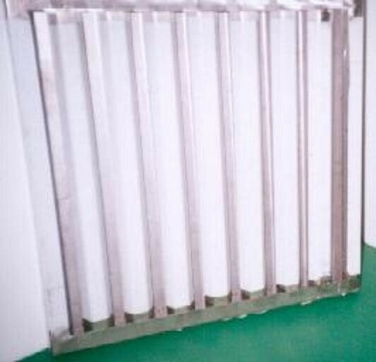 Stainless steel Free flow extraction canopy filters
