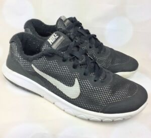 Nike Flex Experience RN 4 Black Running Shoes Sneakers Youth Size ... 56e104458