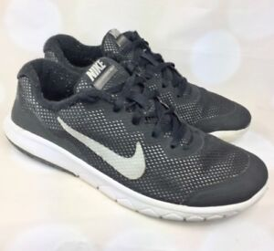 0aabae4bfce7e Nike Flex Experience RN 4 Black Running Shoes Sneakers Youth Size ...