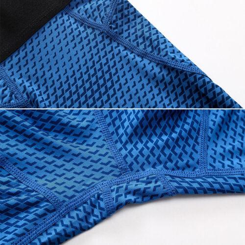 Men Compression Base Layer Shorts Under Skin Sports Gym Pants Running Training