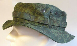 RECCE Hat  Boonie  RUSSIA  green / black digital  camouflage - Made in Germany
