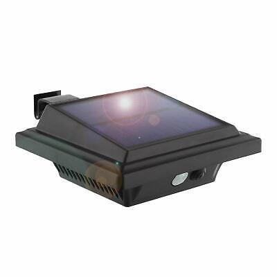 Solar LED Dachrinnenleuchte mit 25LEDs-PIR-Sensor Bewegungsmelder Außen Wandlamp