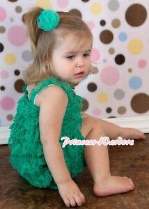 Xmas NewBorn Baby Brown Girl Child Petti One Piece Lace Ruffles Romper NB-3Year