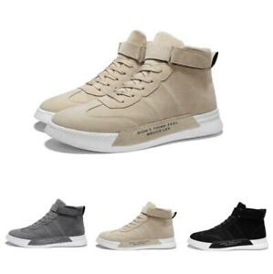 Mens-Outdoor-Casual-Sneakers-High-Top-Breathable-Sport-Running-Athletic-Shoes-Sz