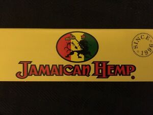 """""""JAMACAIN HEMP"""" ROLLING PAPERS, 1-1/4, ONE PACK, 50 LEAVES, FAST DELIVERY."""
