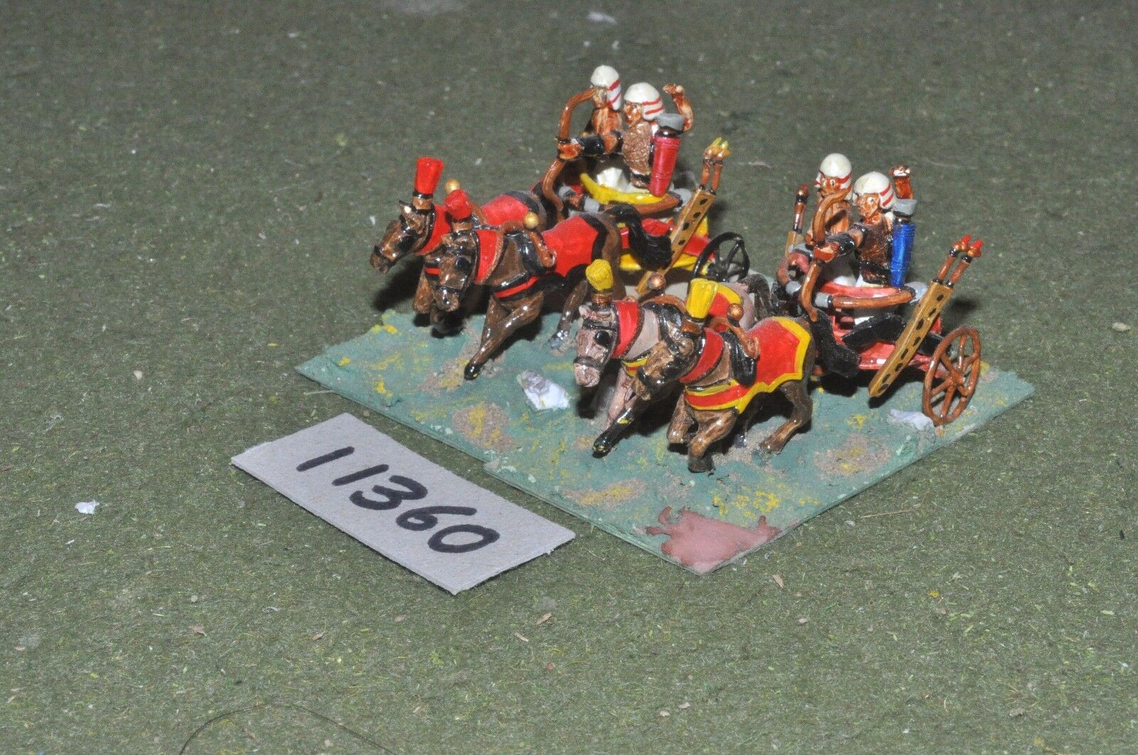 25mm biblical   egyptian - chariots 2 chariots - chariot (11360)