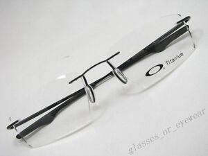 e2d284418c3 Image is loading Eyeglass-Frames-Oakley-keel-OX3122-0153-Polished-Black-