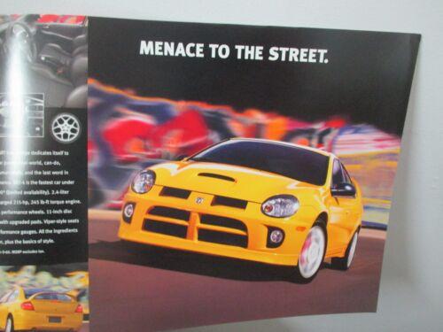 Sales Brouchure  440,000 Neon Ram Truck Mopar NOS 2003-04 Dodge SRT Viper