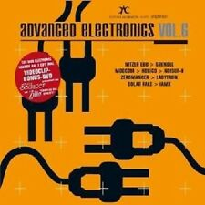 Advanced Electronics vol.6 2 CD + DVD Electro Merce Nuova
