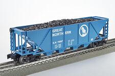 Lot 4022 Lionel Great Northern, idrocarburi imbuto carro, (4 Bay Coal Hopper), OVP