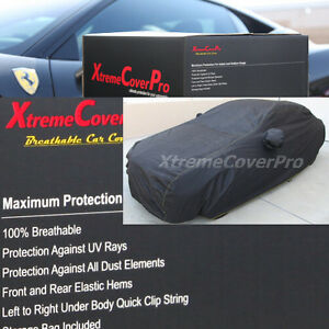 2002-2003-2004-Ford-Mustang-Convertible-Breathable-Car-Cover-w-MirrorPocket