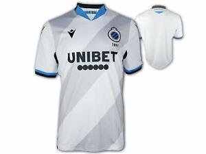 Macron-FC-Bruegge-Auswaerts-Trikot-20-21-weiss-Club-Brugge-Away-Fan-Shirt-Gr-S-3XL