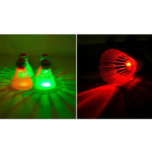 4PCS LED Lighting Nylon Badminton Shuttlecocks Sports Supplies Accessories