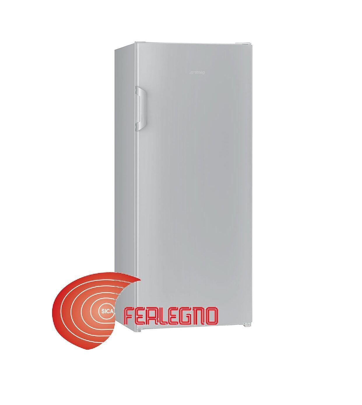 Frigo Smeg Anni 50 Piccolo frigorifero solo frigo monoporta 60cm cerniera dx silver a+
