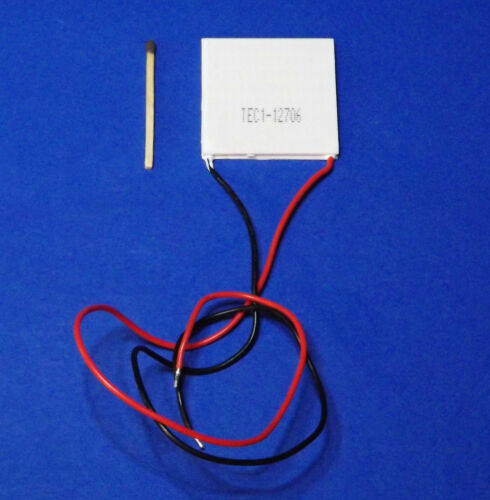 Peltier-elemento Tec Thermo ELECTRIC COOLING elektrothermischer CONVERTITORE 12v 6a