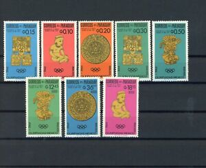 Paraguay MiNr. 1535-42 postfrisch MNH Olympia (Oly2642