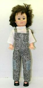 Vintage-1974-Lovee-Doll-Brunette-Sleepy-Eyes-And-Overall-Outfit-With-Shoes-23-034