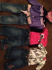 Size 6-12 -24 Months Girls Clothing Lot Baby Phat Puma Guess Gymboree