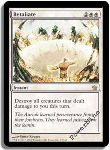 White Fifth Dawn Mtg Magic Rare 1x x1 1 FOIL Retaliate