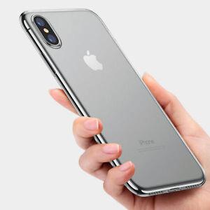 coque iphone xs max slim transparente