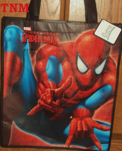 @**SPIDER-MAN LARGE REUSABLE TOTE//GOODY//TREAT//FAVOR BAG**@BRAND NEW!!