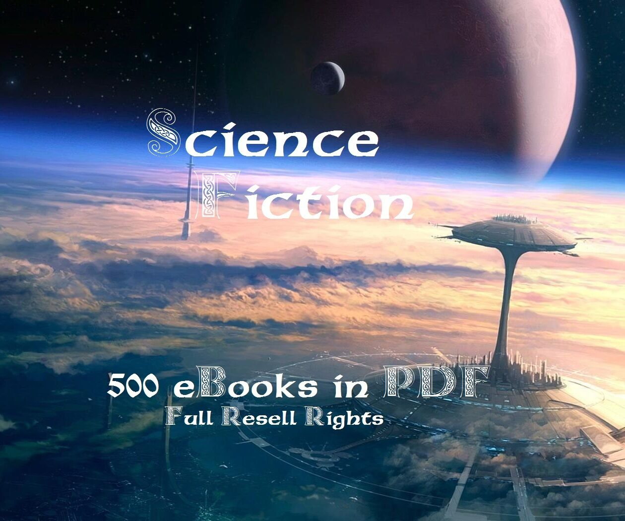 CD - 500 Science Fiction Collection - eBooks 2
