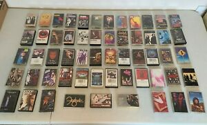 LOT of 57 Cassette Tapes Grunge Rock Pop Alternative Heavy Metal 70s 80s 90s