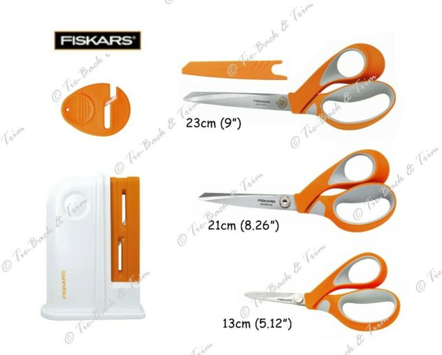 Premium Quality Fiskars Scissors Dress Making Shears Razor Edge Softgrip 13cm 5.