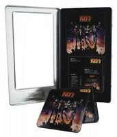 Kiss: Destroyer 6-piece Tin Coaster Set Packaged In Tin Box 000158567