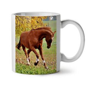 Photo Animal Horse Wild NEW White Tea Coffee Mug 11 oz | Wellcoda
