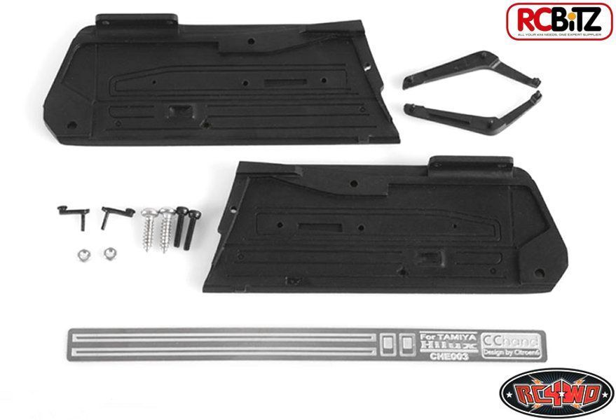 Interior Door Panels Hilux Bruiser and Mojave Trail Finder 2 TF2 RC4WD VVV-C0056