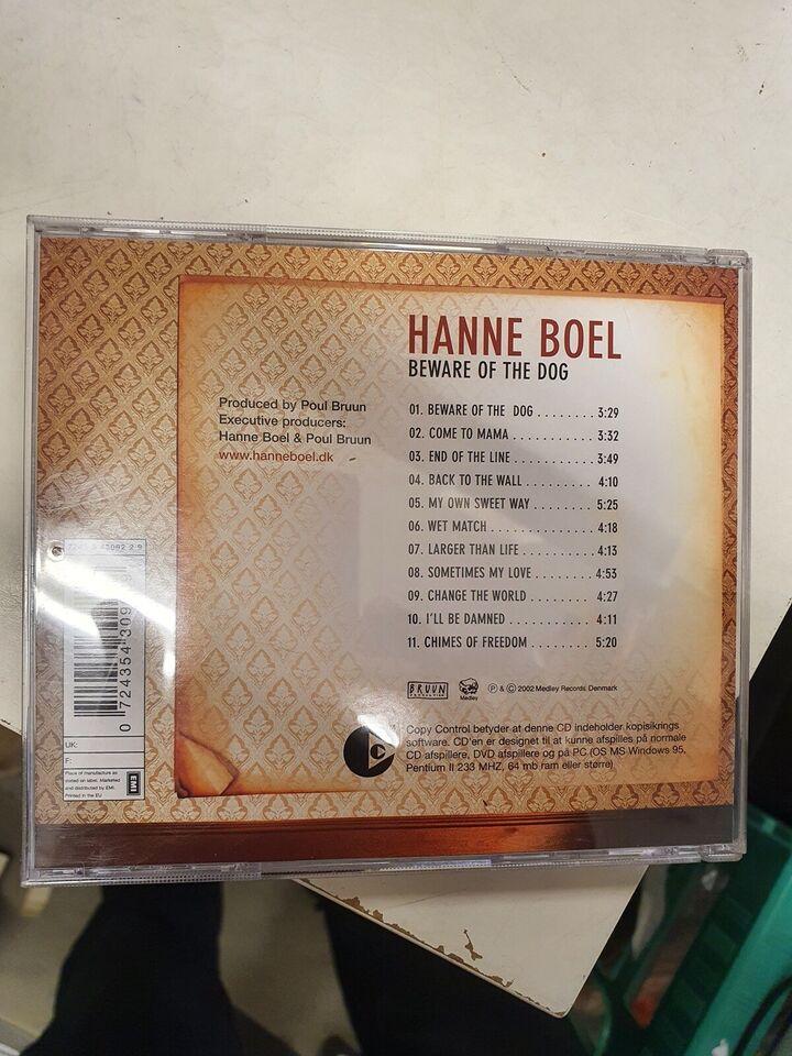 Hanne Boel: Beware of the dog, pop
